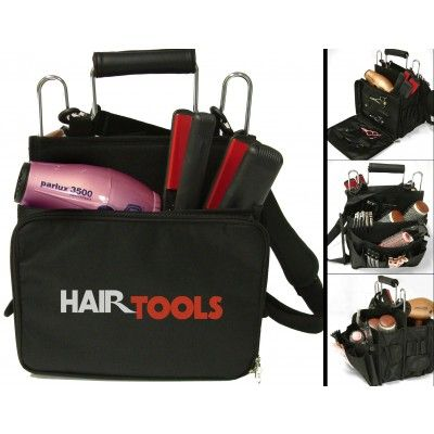 Hair Tools Session Bag designed to take all your kit and keep it organised so you can find it quickly. #hairdressing #bags #hairtools @salonsupplies