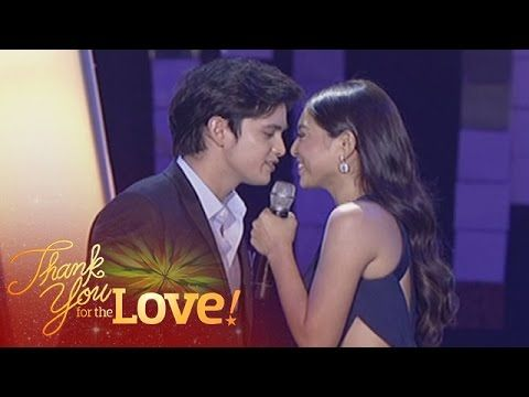 Here Are James Reid And Nadine Lustre Singing A Medley Of Say You Ll Never Go And On The Wings Of Love During The Product Child Actresses Jadine James Reid