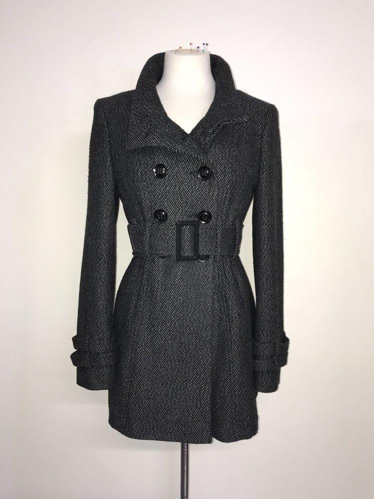 2ff1a33b9f82f JANE NORMAN - Ladies GREY TWEED WOOL COAT - Size 12 - LOVELY WINTER JACKET   fashion  clothing  shoes  accessories  womensclothing  coatsjacketsvests  (ebay ...