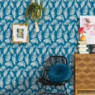 Shop For Peel And Stick Wall Paper Online At Target Choose From Contactless Same Day De Peel And Stick Wallpaper Accent Walls In Living Room Wallpaper Stencil