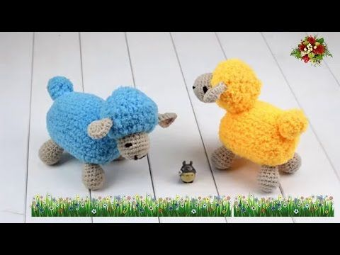 How To Crochet Dollbaby Sheep 13 Youtube Crochet Videos