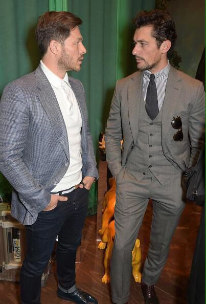 via @OhMyGandyFans: #DavidGandy  with #PaulScolfor and #PatrickCox at the @LATHBRIDGE_LDN #LCM Day 4