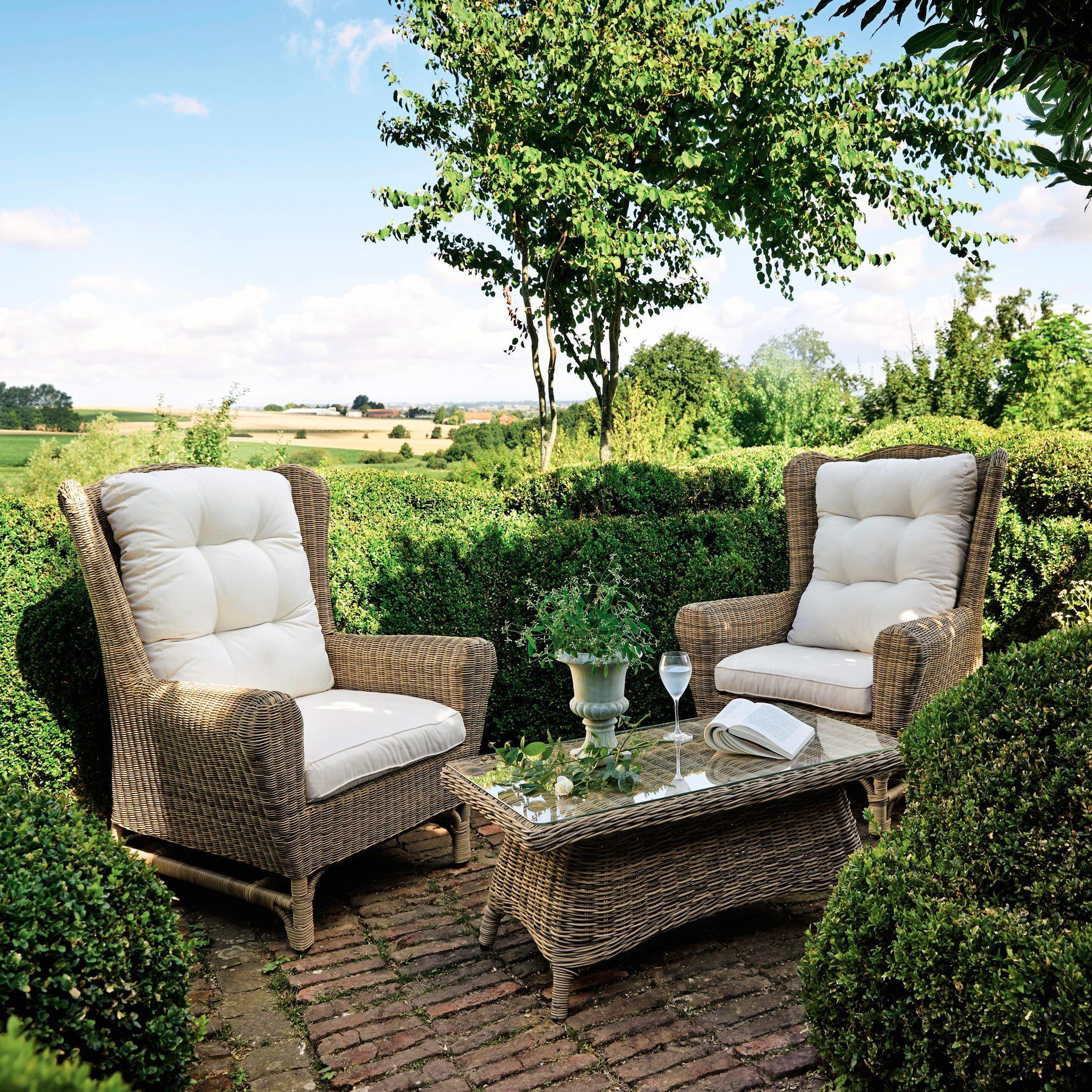Mobilier de jardin en 2019 | Salon de jardin et terrasse | Table ...
