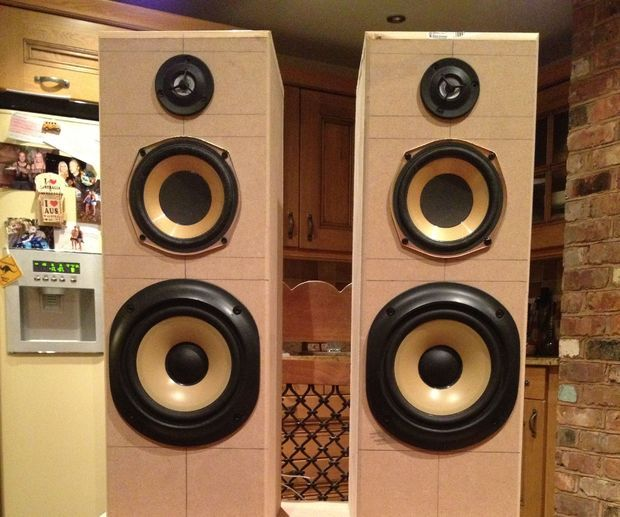 Airplay Hifi Tower Speakers Subwoofer Diy Projects