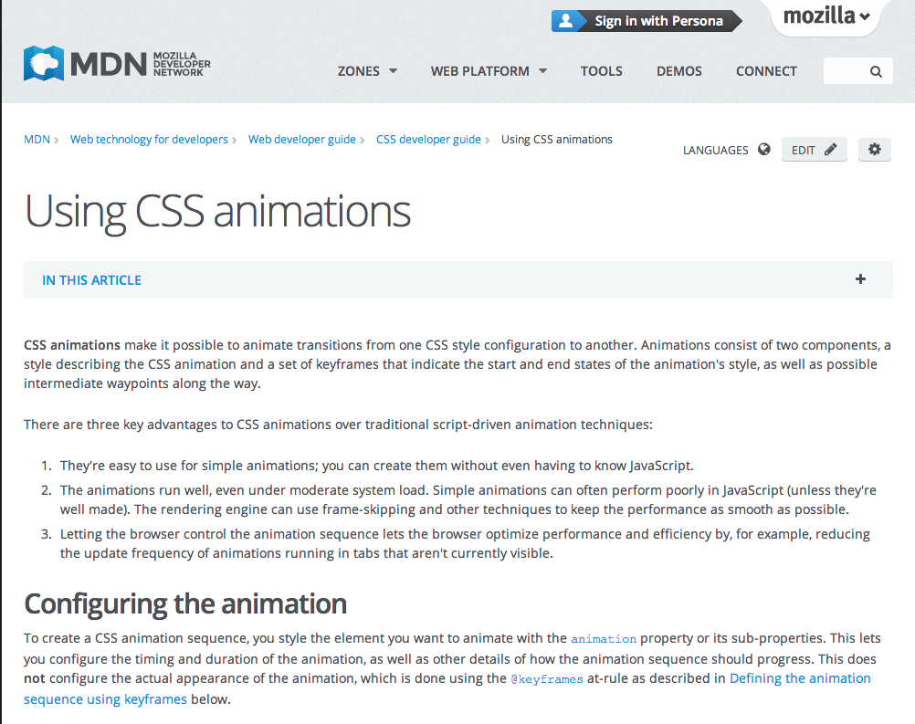 using css animations mdn css html javascript reference rh pinterest com JavaScript Reference Manual JavaScript Command Reference