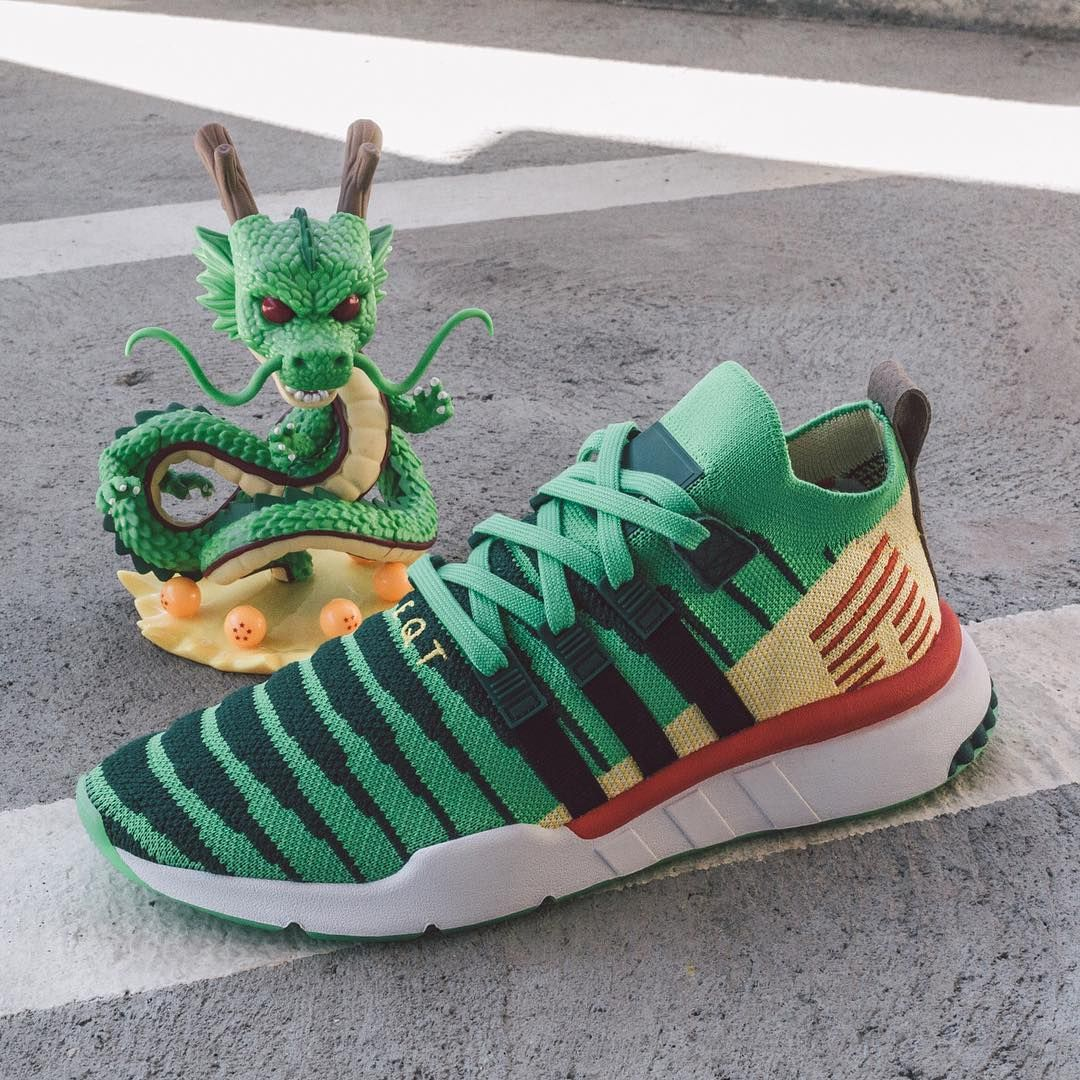 hot sale online 77f80 102fe SHENRON THE DRAGON For a detailed look at the final adidas Dragon Ball Z  release, tap the link in our bio. 📸 baitme