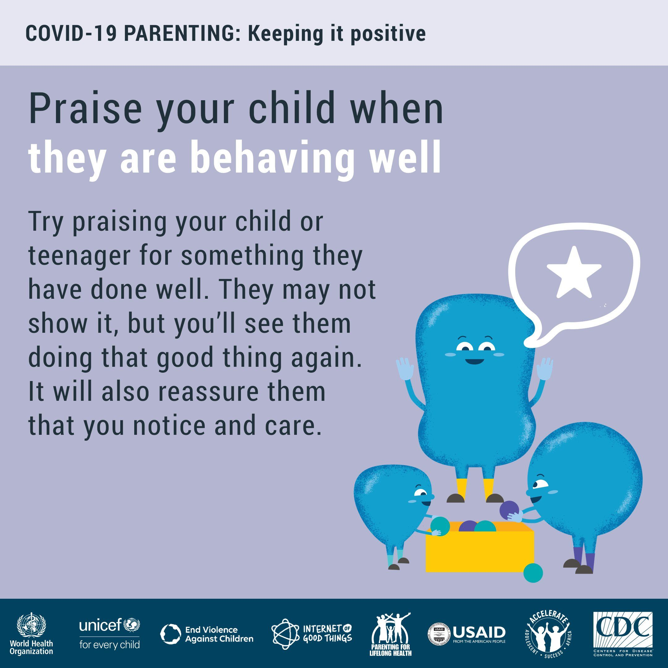 Praise is powerful. Try praising your child or teenager