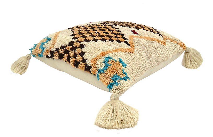 Berber Floor Pouf - Habibi Imports