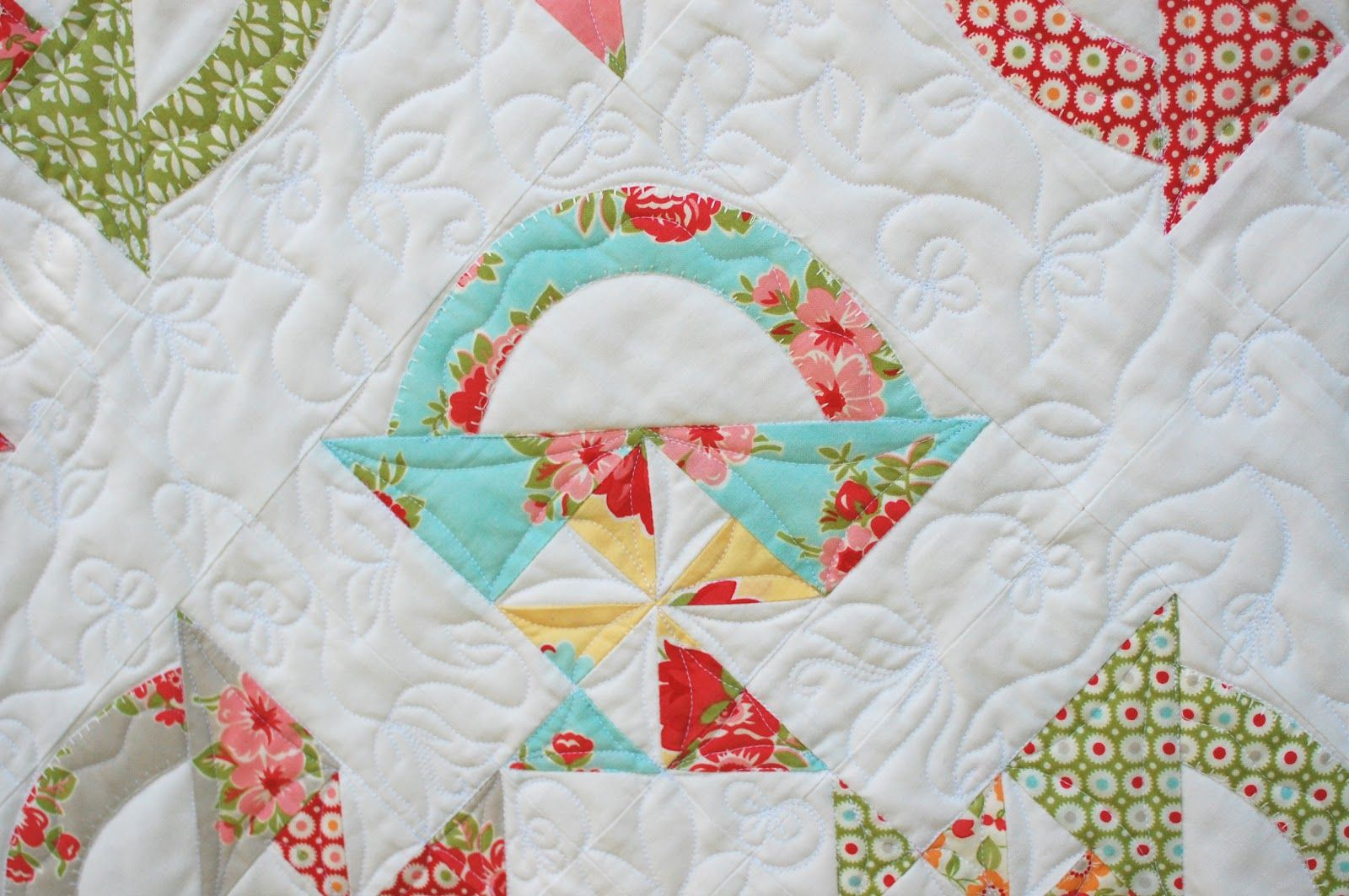 Cotton Way, Marmelade Baskets, love the quilting!