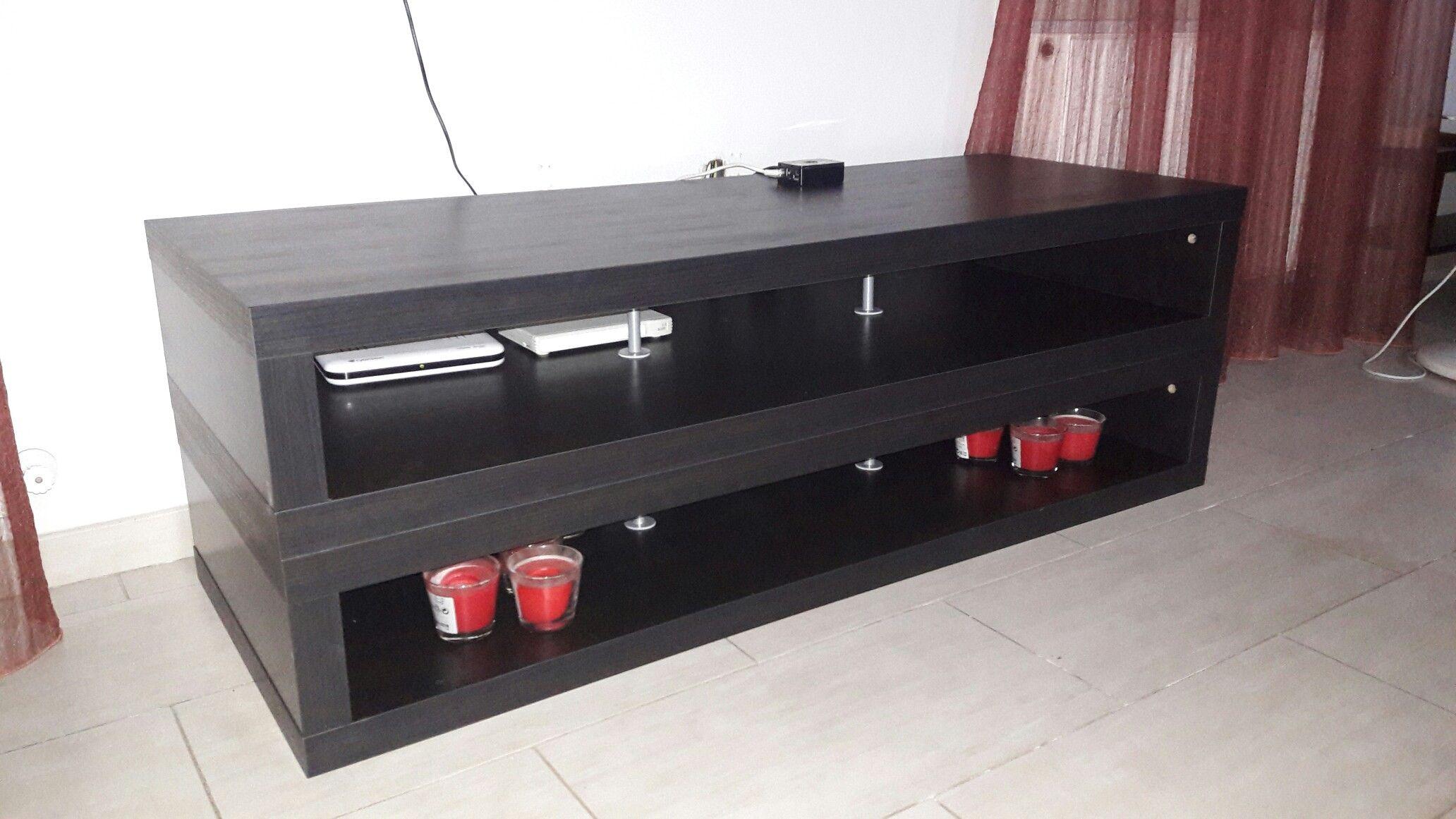 Tv möbel ikea lack  Ikea Lack TV Stand hack | Home Decoration & DIY | Pinterest | TV ...