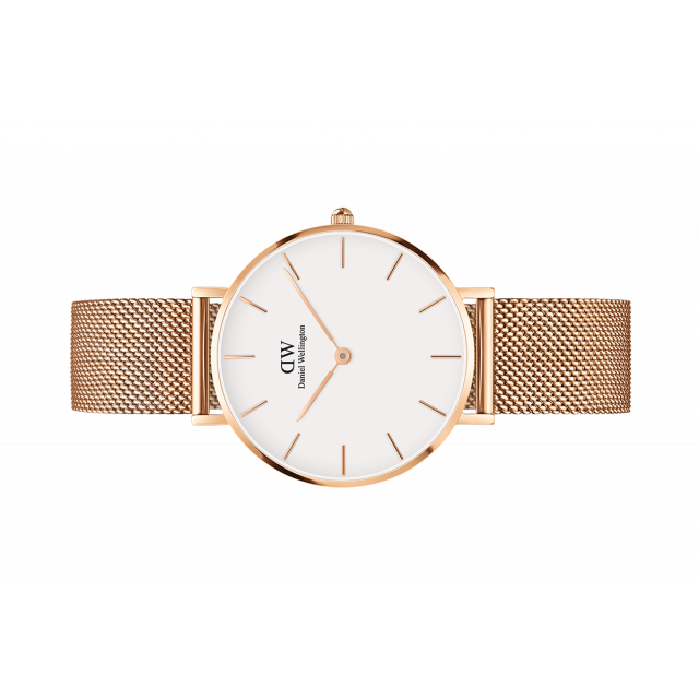 86adb795703a Womens watch - Classic Petite Melrose 32 mm (white) - Daniel Wellington