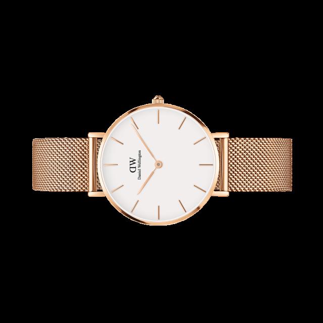 Petite Melrose 32mm White Daniel Wellington Classic Petite Rose Gold Watches Women Dw Watch Women