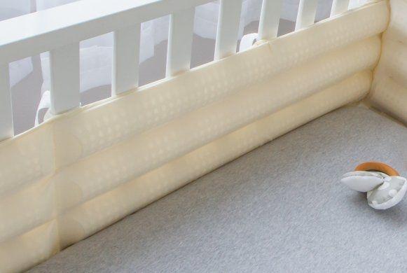 The Bitzy Bumper - Safe Crib Bumper Solution - Bitzy Baby Breathable Crib Bumpers