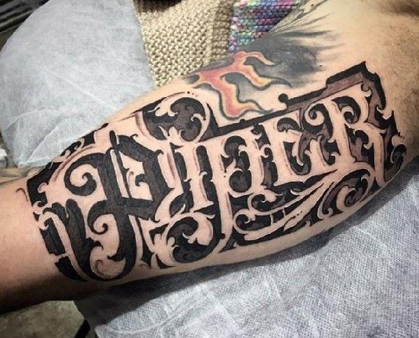 kalligrafie tattoos mit sam taylor tattoo lettering tattoo and tatting. Black Bedroom Furniture Sets. Home Design Ideas