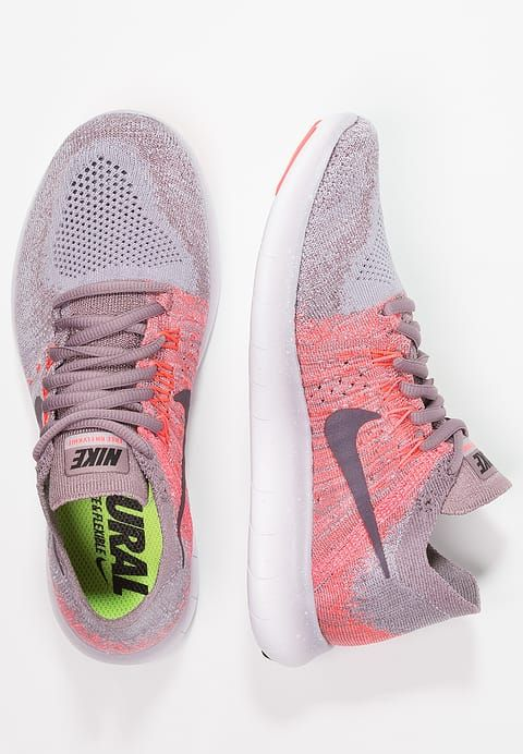 73bc1b7e4b35 ... hot nike performance free run flyknit 2 trainers taupe grey port wine  solar 1d5d5 b2e18