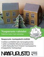 Lumikellot - Tää on ihana♥ Talon sisälle voi laittaa pienen led-kynttilän! Paketissa kolme taloa.
