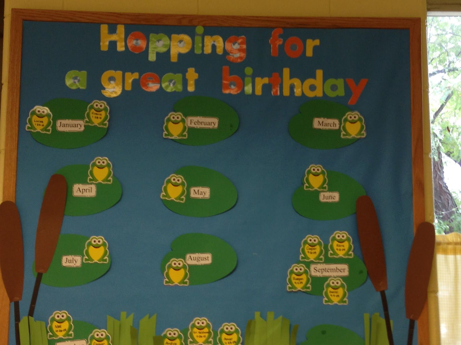 Classroom Ideas For Preschoolers : Preschool birthday bulletin board ideas trinity