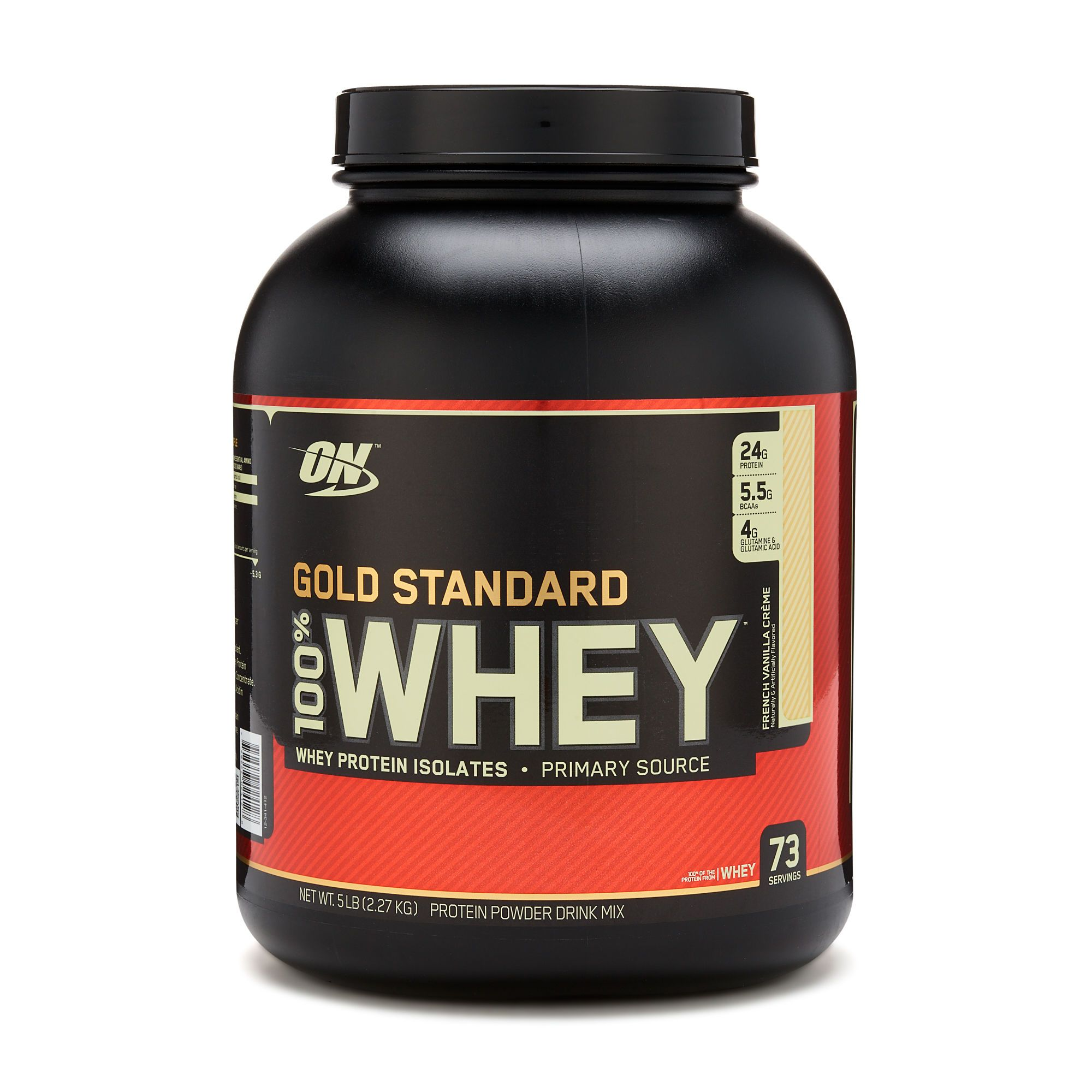 Gold Standard 100 Whey Delivers 24g Of Whey Protein Has 5 5 Grams Of Naturally Occurring Gold Standard Whey Protein Gold Standard Whey Optimum Nutrition Whey