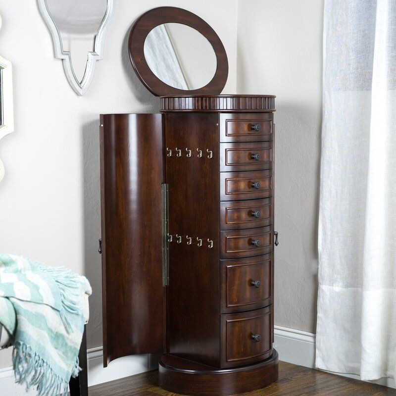 16+ Pettus jewelry armoire with mirror ideas in 2021