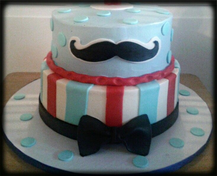 Mustache cake Cakes BirthdayWeddingetc Pinterest