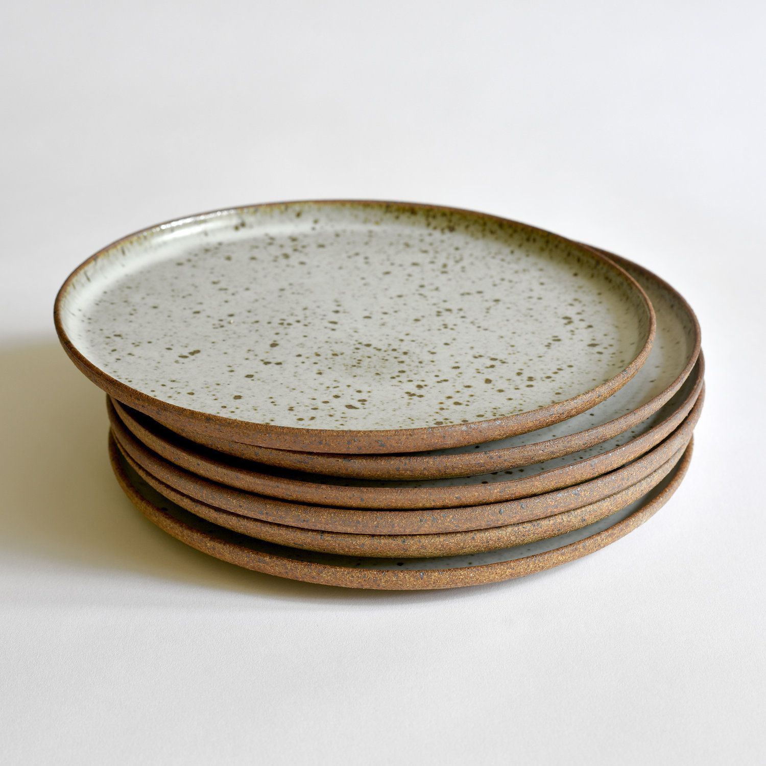 Dinner Plate Pottery Dishes Pottery Plates Rustic Ceramics