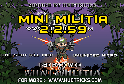 mini militia hack download one shot kill