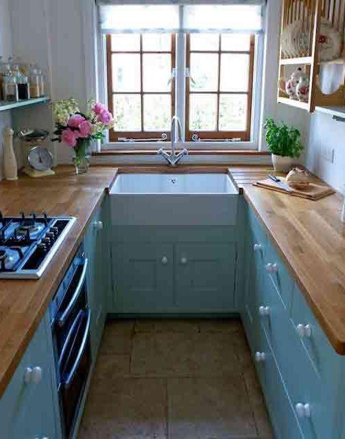 Small Kitchen Decoration Ideas #smallkitchen #kitchen #kitchendesign