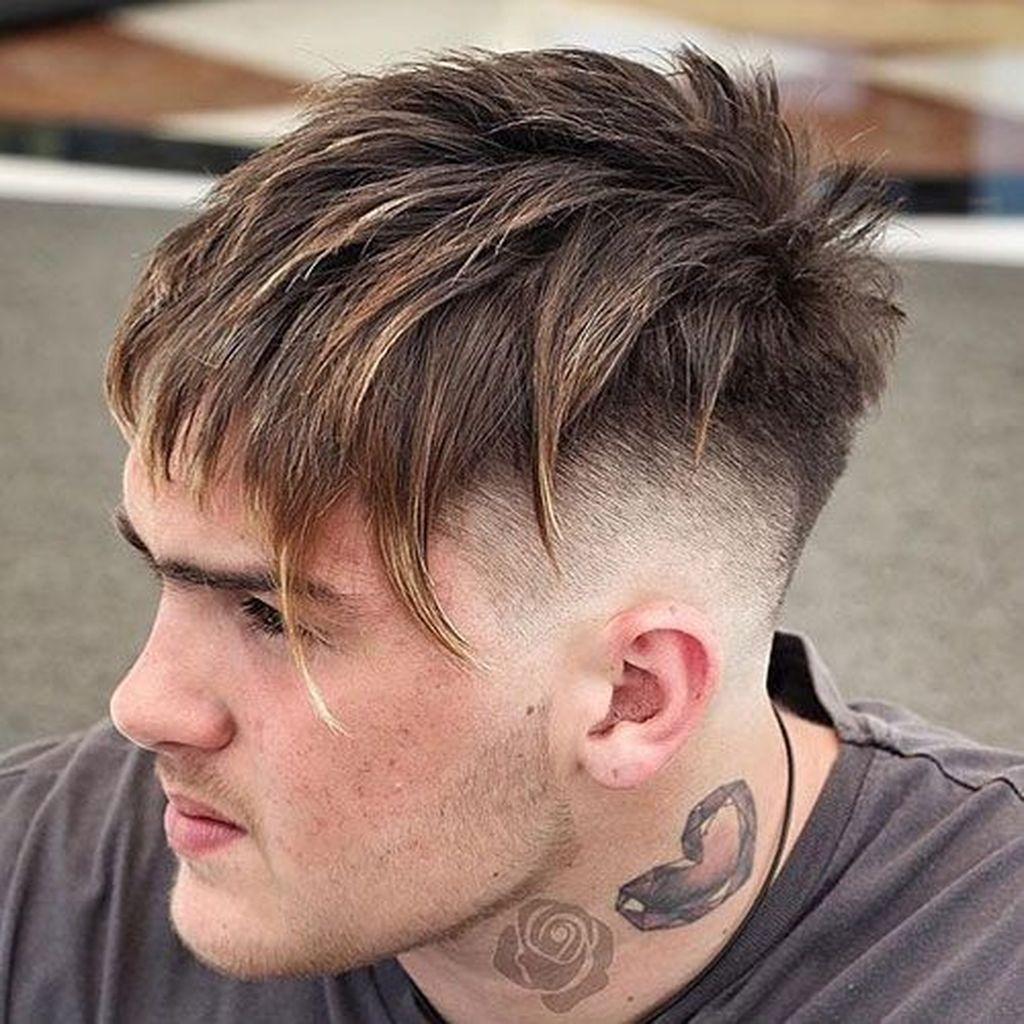 Mens short undercut haircut nice  awesome short undercut mens hairstyle ideas more at