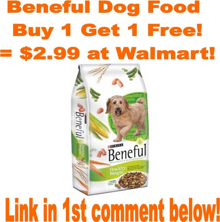 Bogo Beneful Dog Food At Walmart With This Hot Coupon Beneful
