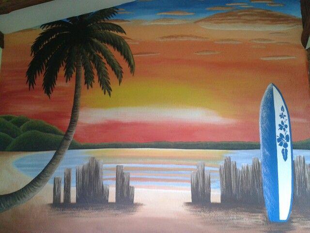 Playa, Pintura