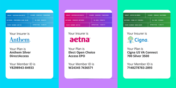 Zocdoc Gives The Health Insurance Card A Brilliant Makeover
