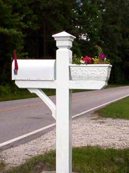 Mailbox with planter