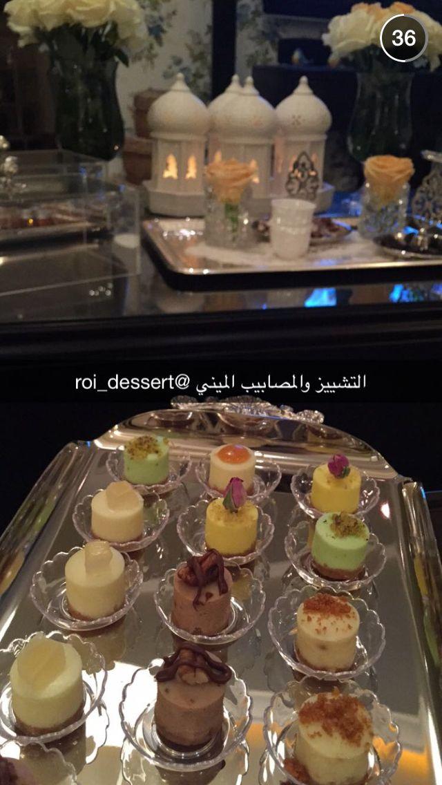 ميني تشيز كيك Coffee Dessert Snacks Desserts