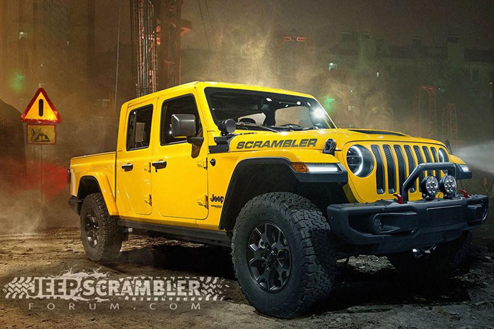 Confirmed 2020 Jeep Scrambler Will Debut Next Month Jeep