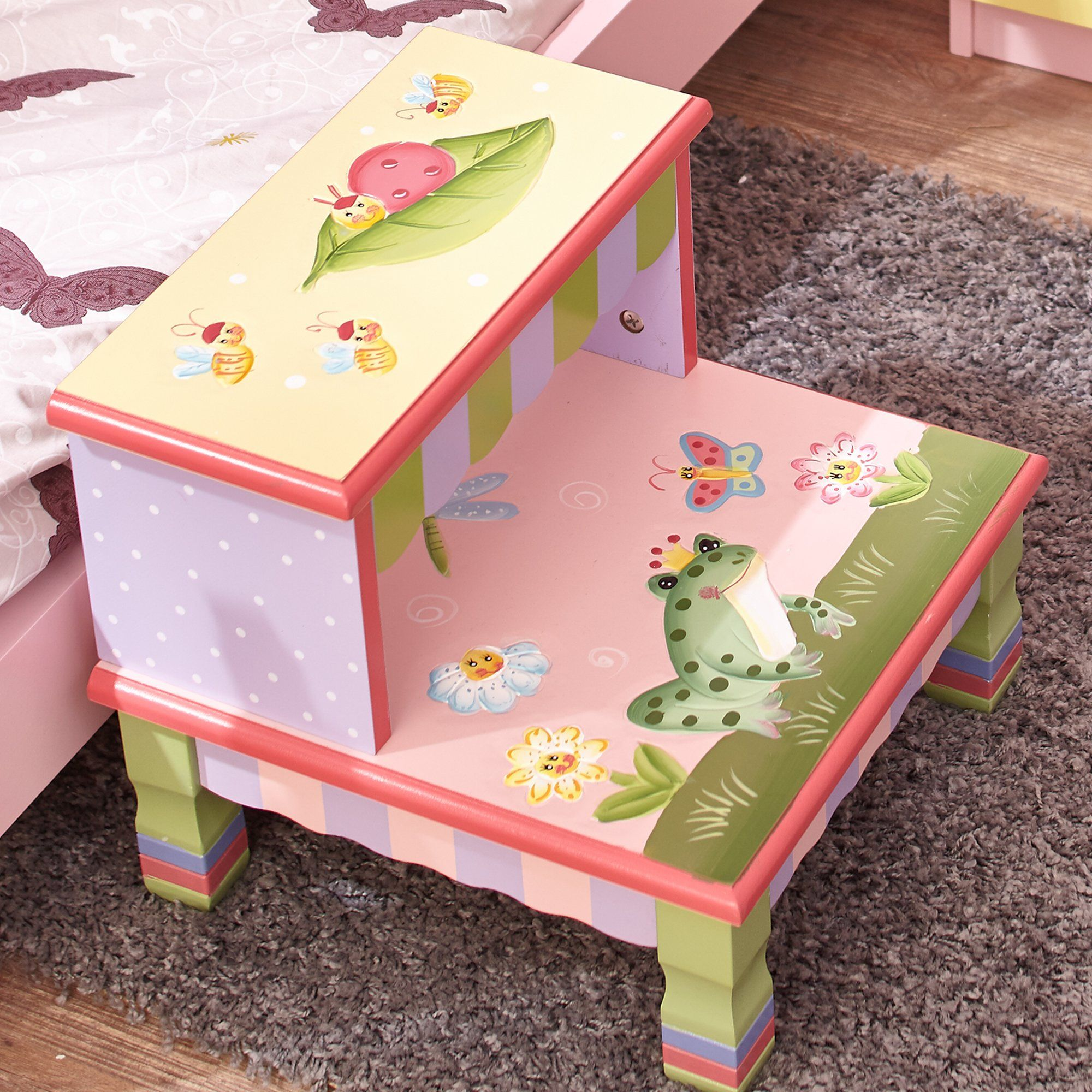 Best Magic Garden Step Stool With Images Step Stool Kids 400 x 300