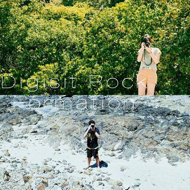 Digisit Rock Formation, Baler, Philippines