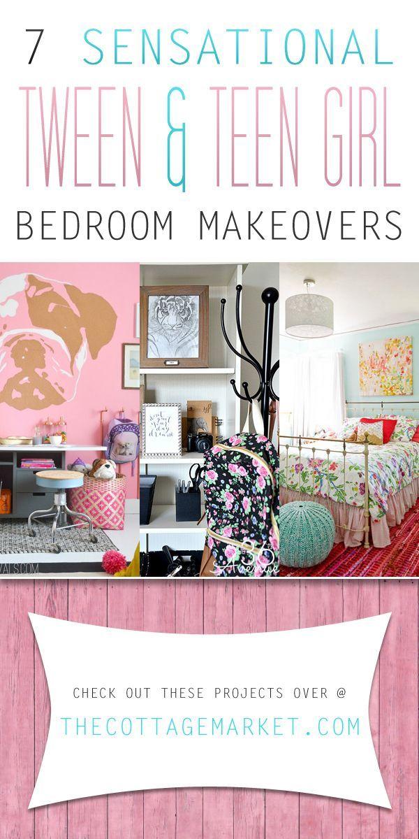 7 Sensational Tween U0026 Teen Girl Bedroom Makeovers