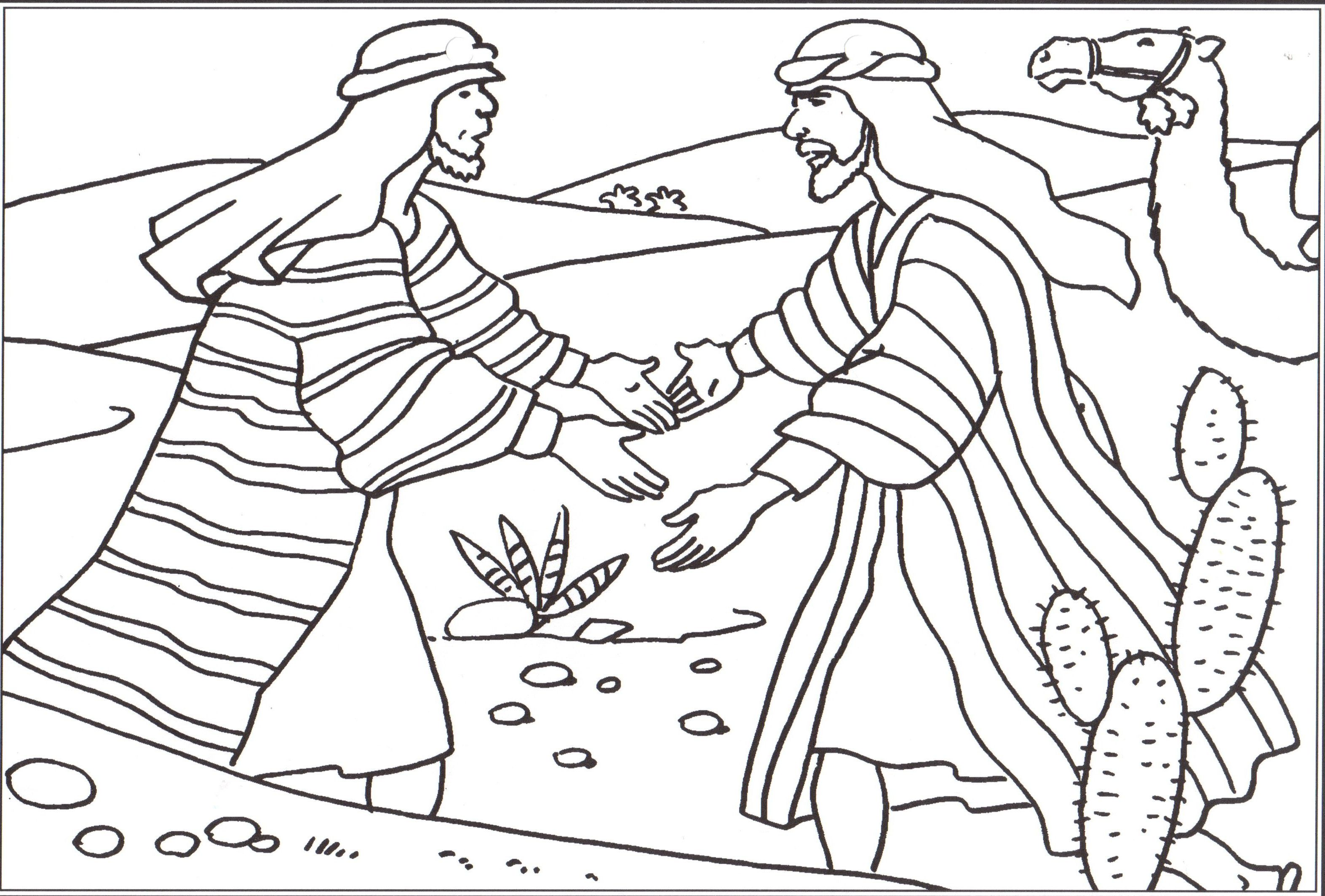 12 Sons Of Jacob Coloring Pages By Matthew Sunday School