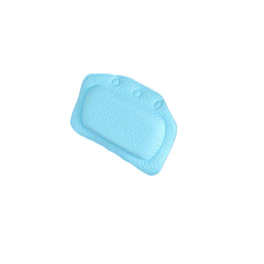 Color Blue Newly Bath Pillow Bathtub Soft Plain Bath Backrest ...