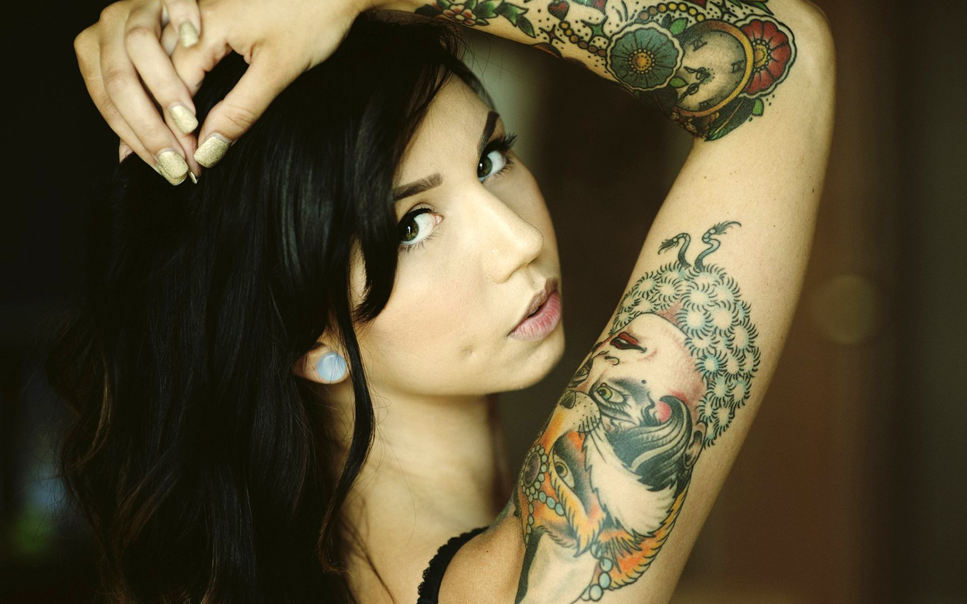 Hd wallpaper, Tattooed girls and Girl tattoos