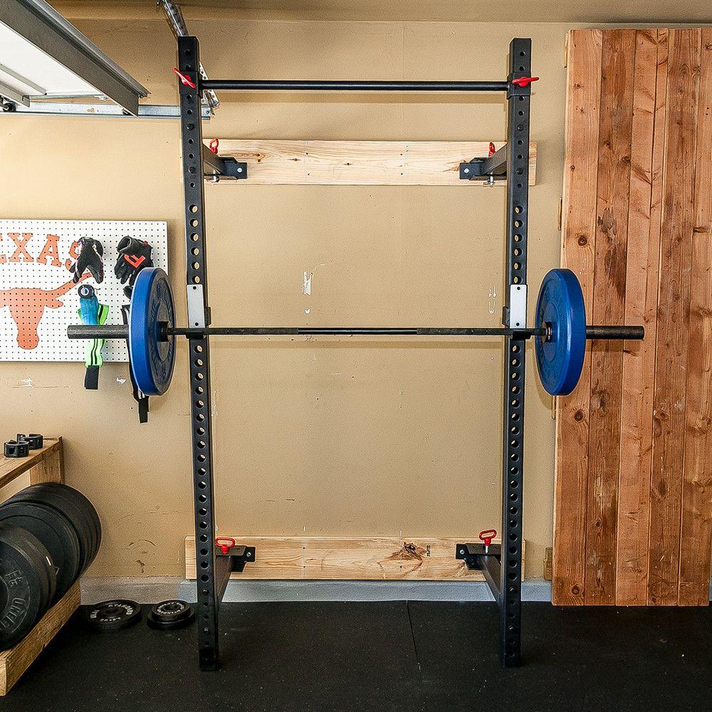 Retractable Power Rack Gym rack, Power rack, At home gym