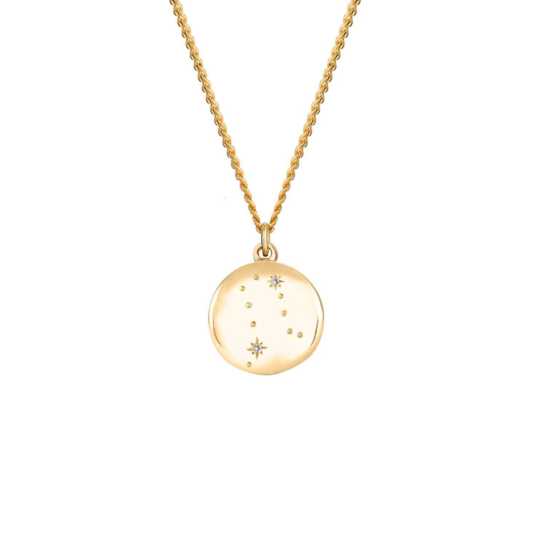 Gemini Zodiac Necklace Horoscope Necklace Gemini Constellation Necklace