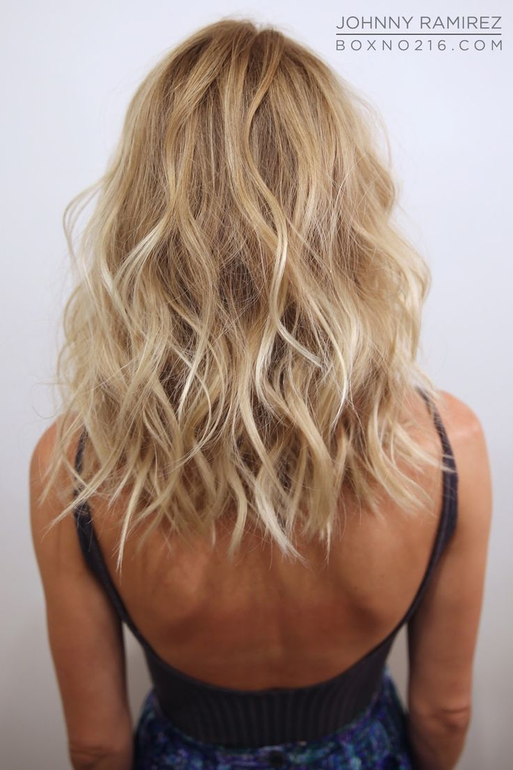 Sweet As Honey Blonde Hair Color Balayage Medium Hair Styles