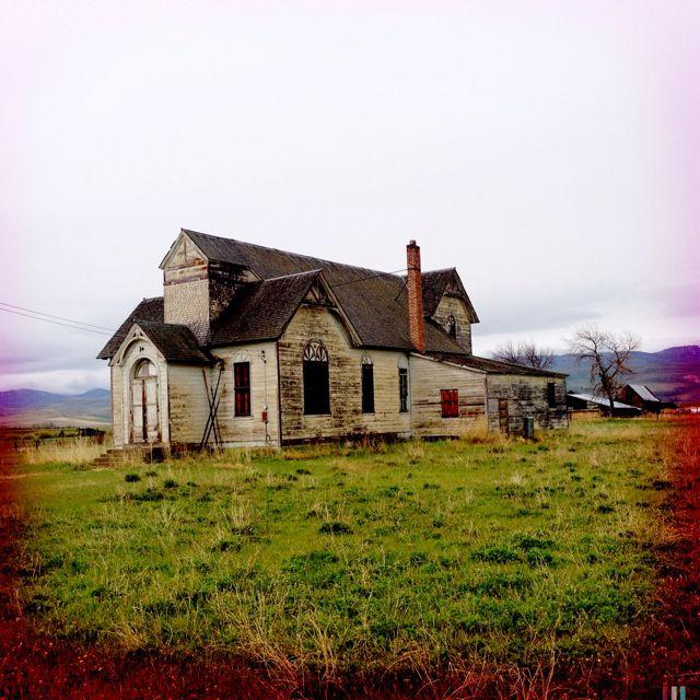 Abandoned Victorian Home- Paris Idaho