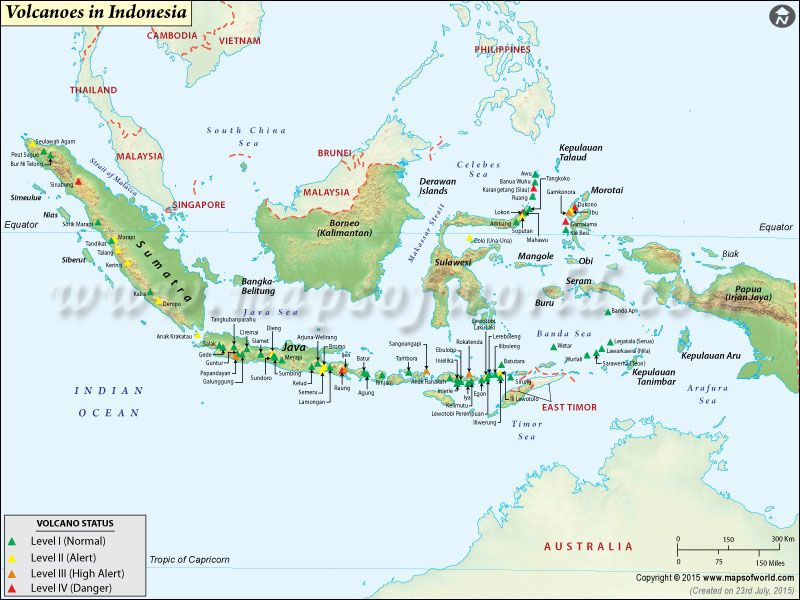 Volcanoes in indonesia map geography pinterest indonesia volcanoes in indonesia map freerunsca Gallery