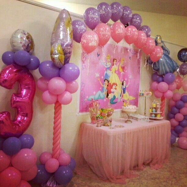 Princess Birthday Party Princess Birthday Party Decorations