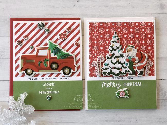 Simon Says Stamp December 2018 Card Kit #cardkit