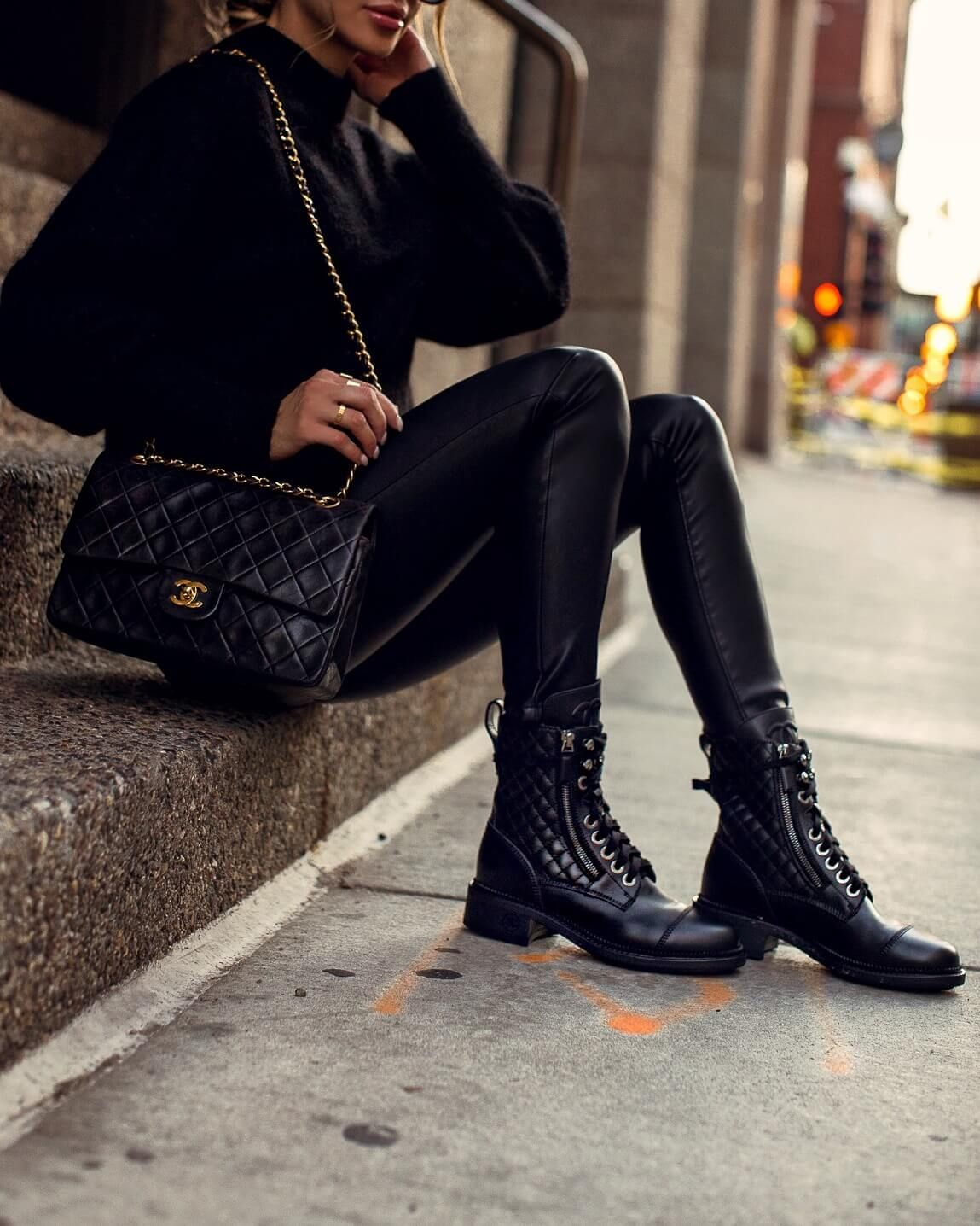 6 Ways to Wear Combat Boots This Fall Mia Mia Mine in