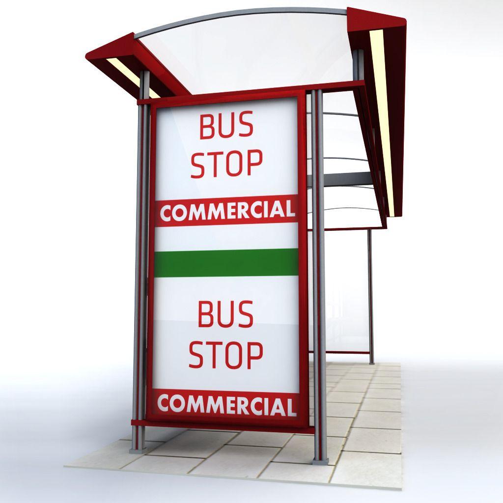 Bus stop construction business cards bus stop psd texture