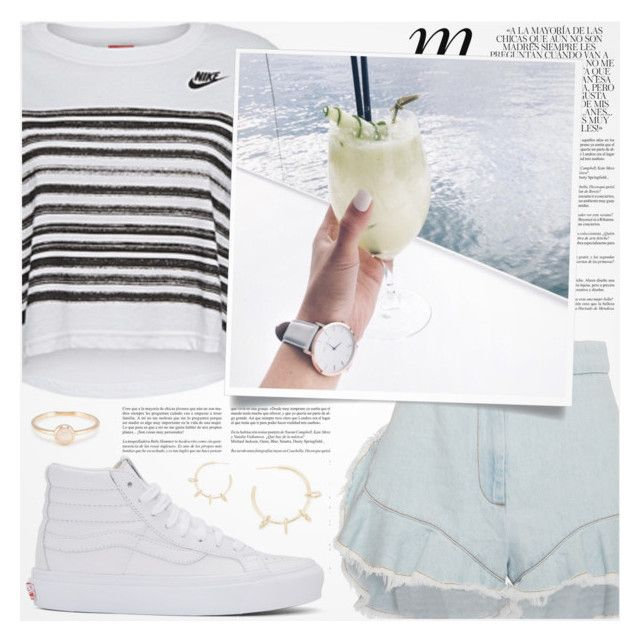 """""""♠ Warrior"""" by paty ❤ liked on Polyvore featuring Whiteley, NIKE, Giamba, Vans and Justine Clenquet"""
